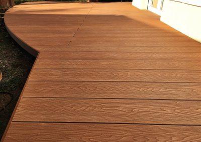 Tölgy Woodgrain WPC terasz burkolat, Budaörs