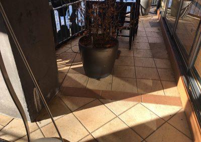 Tölgy Woodgrain WPC burkolat, Budapest, Robinson étterem