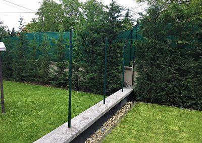 Barna és Antracit WPC kerítés, Budaörs