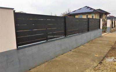 Hézagos kerítésrendszer