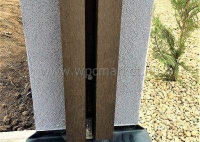 WPC kerítés rendszer, Vecsés
