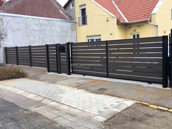 Hézagos WPC kerítés