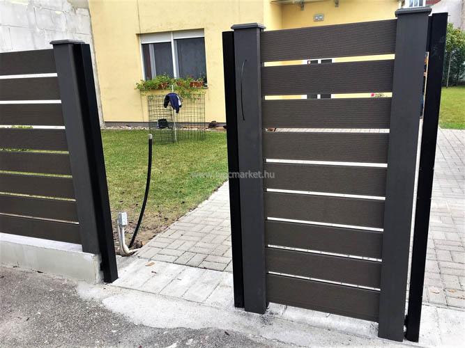 Kerítésrendszer hézagosan