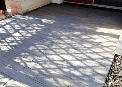 Shadowgrey Co-extrudált WPC terasz burkolat, Balatonfüred