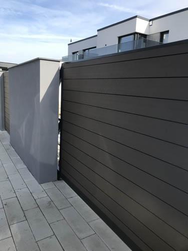 Lenyűgöző WPC kerítésrendszer