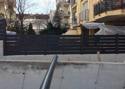 Szürke Simple WPC kerítés