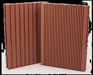 Mogyoróbarna Premium Classic WPC Kerítésrendszer