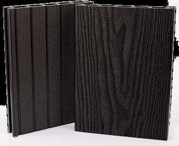 Woodgrain WPC minta szín - Antracit (sötétszürke)