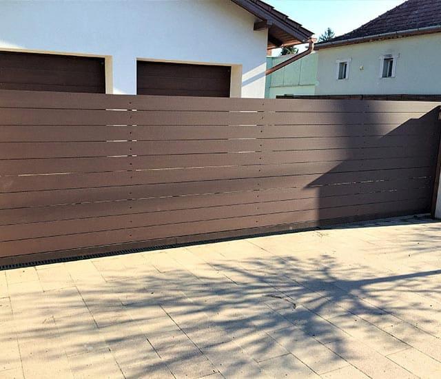 Simple WPC kerítés