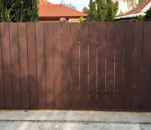 WPC kerítés (Simple)