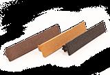 Végzáró dugó Simple és Woodgrain WPC kerítés lezárásához