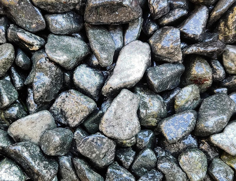 Díszkövek, kert, fehér (Stone and Home)