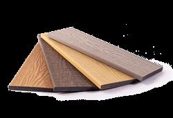 Real Wood Co-extrudált WPC teraszburkolat egyenes oldaltakaró 100x12mm