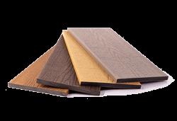 Real Wood Co-extrudált WPC teraszburkolat egyenes oldaltakaró 140x11mm