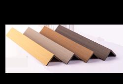 Real Wood Co-extrudált WPC burkolat L-élzáró